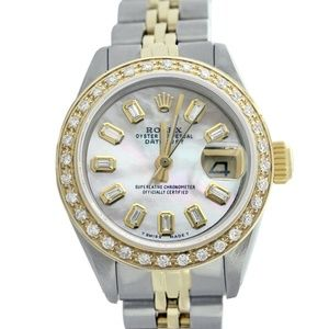 Rolex Lady Datejust White Mother of Pearl Watch